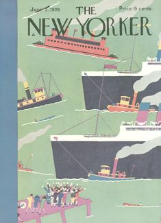 The New Yorker - Saturday, June 2, 1928 - Issue # 172 - Vol. 4 - N° 15 - Cover by : Sue Williams