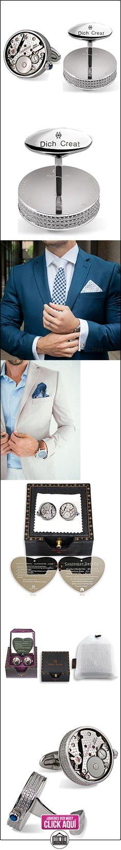 Dich Creat Acero inoxidable CNC con incrustaciones de corazones y flechas Joyas Swiss Movimiento de lujo Gemelos  ✿ Joyas para hombres especiales - lujo ✿ ▬► Ver oferta: https://comprar.io/goto/B01MQYM7VT