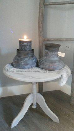 Oude assen nu prachtige kaarsenstandaards