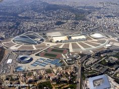 Athens Olympic Sports Complex. Aerial view