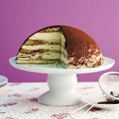 Tiramisu-Kuppel-Torte Rezept   Küchengötter