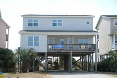 Holden Beach, NC - After Hugo 557 a 5 Bedroom Oceanfront Rental House in Holden Beach, part of the Brunswick Beaches of North Carolina. Includes Hi-Speed Internet