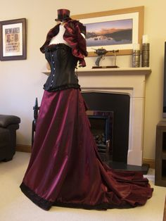 Victorian Steampunk ball gown or wedding dress. by OohLaLaBoudoir