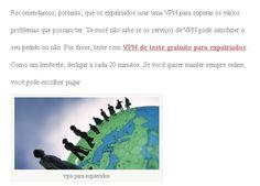 teste com vpn de teste gratuito: www.flyvpn.com/freetrial