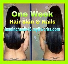 Hair skin and nails has 5,000 mg of biotin for quick hair and nail growth.  Do you want to take the hair, skin, and nail challenge?  702-324-4308 ashley702222@gmail.com