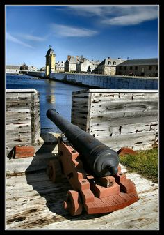 fortress of Louisbourg located in Cape Breton