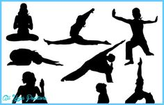 Yoga poses clipart - http://allyogapositions.com/yoga-poses-clipart.html