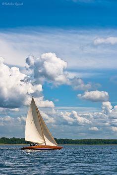 Inland sailing by Radoslav_, via Flickr