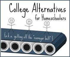 College Alternatives for Homeschoolers - See Jamie blog