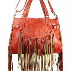 Fringe Shoulder Bag. I'd trimm that fringe shorter..lol