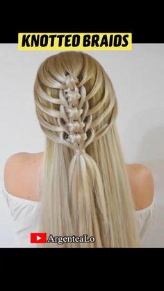Hair Tips Video, Long Hair Video, Hair Videos, Down Hairstyles For Long Hair, Pretty Hairstyles, Braided Hairstyles, Shot Hair Styles, Long Hair Styles, Hair Tutorials For Medium Hair