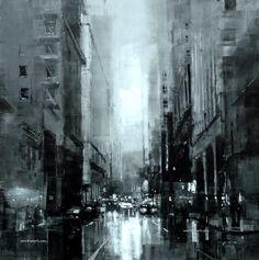Jeremy Mann: Las calles de San Francisco