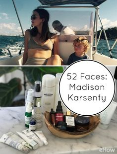 Madison Karsenty - a mom of 3! - shares her daily self-care routine which includes her take on 10-step Korean skin care method for glowing skin! Full details and products here: http://www.ehow.com/how_12343801_52-faces-madison-karsenty.html?utm_source=pinterest.com&utm_medium=referral&utm_content=freestyle&utm_campaign=fanpage
