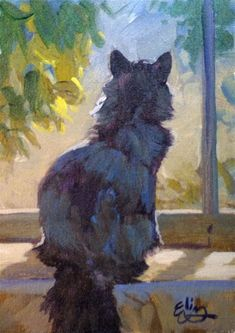 Image result for Easy Acrylic Paintings Cat and Dog