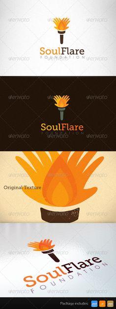 NonProfit Charity Social Foundation Creative Logo — Photoshop PSD #trust #care • Available here → https://graphicriver.net/item/nonprofit-charity-social-foundation-creative-logo/3155913?ref=pxcr