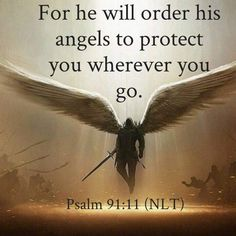 No matter what is happening, Always Remember, God has put His guardian angels around you; and His Holy Spirit in you! Prayer Scriptures, Bible Prayers, Faith Prayer, Prayer Quotes, Faith In God, Psalm 91 Prayer, Biblical Quotes, Religious Quotes, Bible Verses Quotes