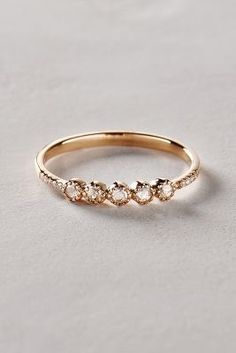 Liven Co. Rosecut Diamond Ring in 14k Gold #anthrofave #anthropologie