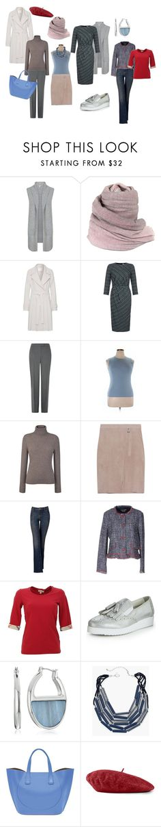 """""""T&C+Classic"""" by irenabar ❤ liked on Polyvore featuring Faliero Sarti, Goat, Damsel in a Dress, Carolina Herrera, John Lewis, Steffen Schraut, Simply Vera, Boutique Moschino, Burberry and Kenneth Cole"""