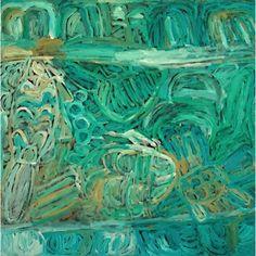 Sonia Kurrara, Martuwarra, 2013 Acrylic on canvas, 90 x 90 cm. Indigenous Australian Art, Aboriginal Artists, Gerhard Richter, Max Ernst, Arts Award, Cubism, Botanical Art, Abstract Art, Art Gallery