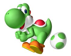 Yoshi is a recurring character in the Mario franchise and has since gone on to star in his own games. 3d Street Art, Super Smash Bros, Super Mario Bros, Image Mario, Paper Mario Games, Mario Und Luigi, Fantasy Football League, Princesa Peach, Green Characters