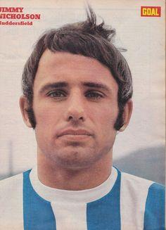 Jimmy Nicholson of Huddersfield Town in 1970.
