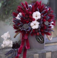 Super Flowers Bouquet Present Floral Arrangements Ideas Amazing Flowers, Love Flowers, Wedding Flowers, Dried Flower Bouquet, Dried Flowers, Arte Floral, Colorful Garden, Flower Seeds, Flower Boxes