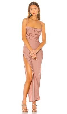 Shop for Michael Costello x REVOLVE Braxton Dress in Rose at REVOLVE. Free day shipping and returns, 30 day price match guarantee. Michael Costello, Evening Dresses, Prom Dresses, Bridesmaid Dresses, Evening Outfits, Graduation Dresses, Wedding Bridesmaids, Formal Dresses, Revolve Clothing