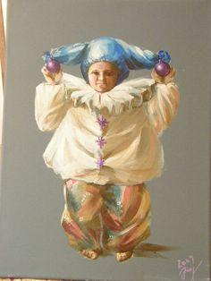 E.M Brækstad/ Bobi the clown