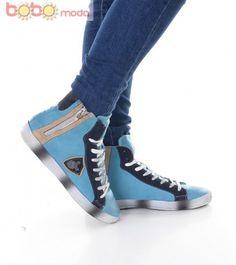 Ghete Dama Alpine Rain Blue Rain, Sneakers, Blue, Shoes, Fashion, Rain Fall, Tennis, Moda, Slippers