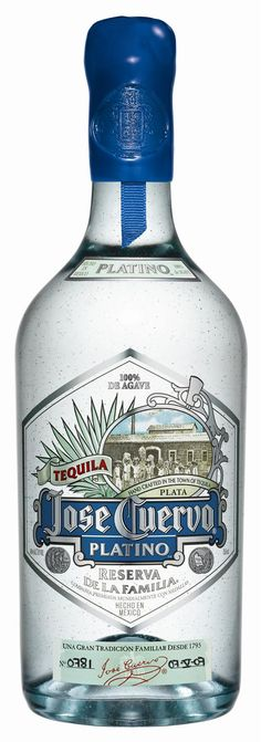 Diageo launches Jose Cuervo Platino Tequila