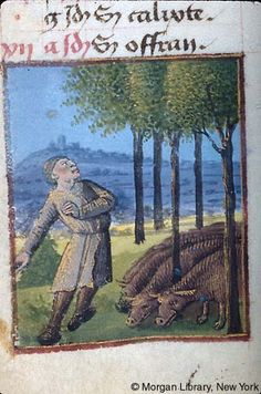 Book of Hours, MS M.677 fol. 5v - Images from Medieval and Renaissance Manuscripts - The Morgan Library & Museum
