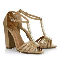 Sandália salto alto Veneto Pele -  UZA Shoes