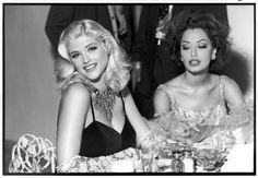 by Daniela Federici : Anna Nicole Smith as Jayne Mansfield and Sky Nellor as Sophia Loren