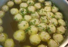 Vynikající příloha do klasické kuřecí polévky nebo do zeleninové polévky.