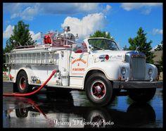 B Model Mack Fire Truck, Cortlandville NY Mack Trucks, Old Trucks, Fire Dept, Fire Department, Mack Attack, Fire Horse, Cool Fire, Flatbed Trailer, Fire Equipment