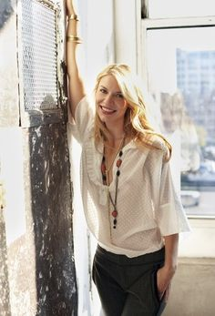 Claire Danes. Love her on Homeland.