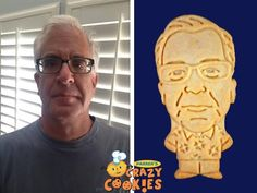 Give your husband a creative send off at his retirement party with custom cookies of him by Parker's Crazy Cookies. Beautifully designed and expertly baked...they are always the hit of the party!