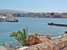 Chania, Crete from the Lighthouse wall