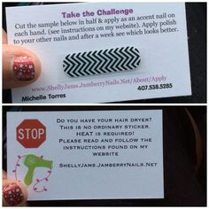 Check out over 300 designs at jessmullen.jamberrynails.net then click this picture to take the seven day challenge and I'll send you a free sample!