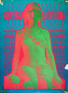 Victor Moscoso is an artist best known for producing psychedelic rock posters/advertisements and underground comix in San Francisco during the and Psychedelic Rock, Psychedelic Artists, Psychedelic Posters, Rock Posters, Concert Posters, Music Posters, Woodstock, Wes Wilson, Victor Moscoso