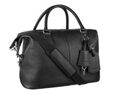 Real Leather Duffle   Duffel Bag  Cabin Luggage -Black Buffalo Leather  Duffle Weekend Holdall bea9d59d5c947