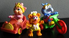 Rescue rangers was a spinoff cartoons that made it in McDonald Happy meal toys. Vehicles seems popular to kids.