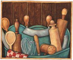 bountiful kitchen 2- Susan Winget