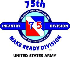 "Amazon.com: 75TH INFANTRY DIVISION ""THE MAKE READY DIVISION "" U.S. MILITARY CAMPAIGNS LAMINATED PRINT ON 18"" x 24"" QUARTER INCH THICK POSTER BOARD: Everything Else"