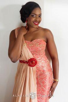 BellaNaija Weddings presents 14 Fabulous Wedding Trends For African Dresses For Women, African Fashion Dresses, African Attire, African Women, Nigerian Outfits, Nigerian Dress, Nigerian Bride, African Print Dress Designs, African Design