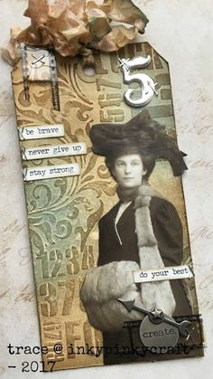 Frilly and Funkie: Challenge Winners - New Year's Inspiration Atc Cards, Card Tags, Gift Tags, Timmy Time, Tim Holtz Dies, Steampunk, Art Journal Techniques, Card Sentiments, Handmade Tags
