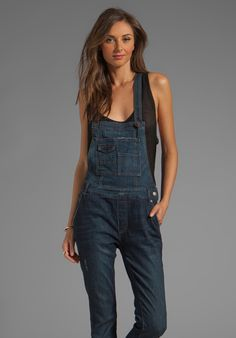 Overall in Blue - Lyst