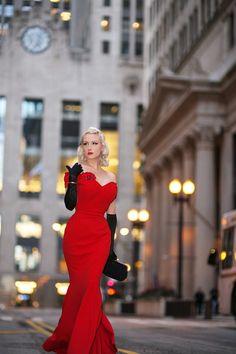 75d19ce622 Beautiful Rachel Ann wearing a gorgeous red gown!