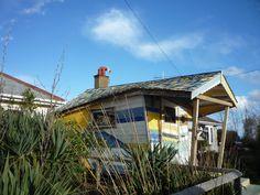 Clifftop garden, Overstrand Coastal Art, Norfolk, Cabin, House Styles, Garden, Home Decor, Garten, Decoration Home, Room Decor