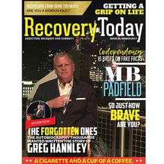 """Our Best issue yet!  PLEASE LIKE AND SHARE.  The Greg Hannley (@greghannley) story is featured this month on our cover! . Nationally recognized addiction expert award winning movie producer and the """"teller of the most amazing stories you've heard in your life"""" is our cover and feature. . Yes he is also our publisher but this interview is long overdue. . Thousands of people say he saved their life. He gives God the credit and the greatness in them. . His story is of tragedy and triumph. A…"""